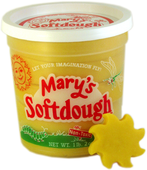 Large tub of Yellow Softdough