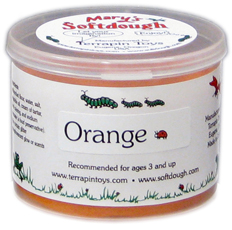 5oz tub of Orange Softdough