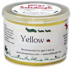 5oz tub of Yellow Softdough